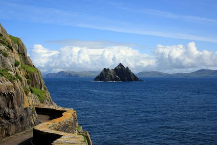 Skellig Michael of the Iveragh Peninsula in County Kerry